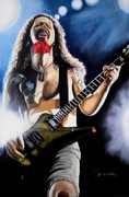 Dimebag Paintings - The Art of Shredding by Al  Molina
