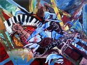 Blues Painting Originals - The Art Of The Blues by Jim Porterfield