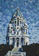 Memorial Painting Posters - The Ashton Memorial  Poster by Andy  Mercer