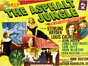 Films By John Huston Prints - The Asphalt Jungle, From Upper Left Print by Everett
