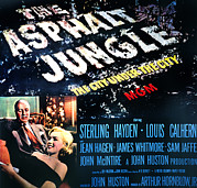 Films By John Huston Framed Prints - The Asphalt Jungle, Louis Calhern Framed Print by Everett