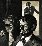 Slavery Painting Posters - The Assassination of Abraham Lincoln Poster by English School