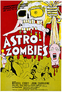 1968 Movies Posters - The Astro-zombies, 1968 Poster by Everett