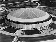 Ev-in Photo Metal Prints - The Astrodome Aka The Eighth Wonder Metal Print by Everett
