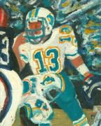 Dan Marino Art - The Audible by Jorge Delara
