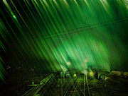 Armageddon Prints - The Aurora Line Print by Marcie Adams Eastmans Studio Photography