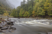Lake Placid Ny Photos - The Ausable River by Nicholas Palmieri