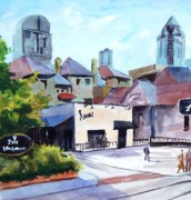 The Avanti On Mckinney Ave Print by Ron Stephens