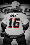 Hockey Player Posters - The Avery Poster by Karol  Livote