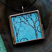 Acrylic Necklace Jewelry - The Awakening by Dana Marie