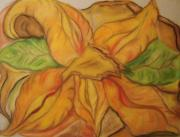Organic Pastels Originals - The Awakening by Michelle  Thomann-Ramirez