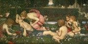 Awaken Posters - The Awakening of Adonis Poster by John William Waterhouse