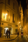 Montpellier Prints - The Back Streets Of The Old Town Print by Taylor S. Kennedy