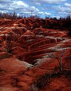Landscapes Glass Originals - The Badlands by Cabral Stock