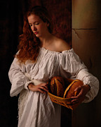 Rembrandt Lighting Prints - The bakers wife Print by Dick Wood