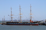 Historic Ship Framed Prints - The Balclutha . A 1886 Square Rigged Cargo Ship At The Hyde Street Pier in SF California . 7D14069 Framed Print by Wingsdomain Art and Photography