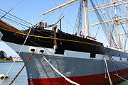 Sailing Vessel Photos - The Balclutha . A 1886 Square Rigged Cargo Ship At The Hyde Street Pier in SF California . 7D14136 by Wingsdomain Art and Photography