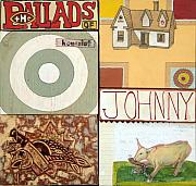 Target Mixed Media - The Ballads of Homesick Johnny Cover by Karl Frey