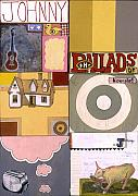 Toaster Mixed Media - The Ballads of Homesick Johnny Poster by Karl Frey