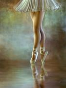 The Ballerina Print by Ana CBStudio