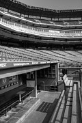 Baseball Art Print Framed Prints - The Ballpark In Arlington Framed Print by Ricky Barnard