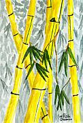 Watercolors - The Bamboo Forest by Rich Stedman
