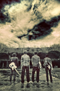 Gloomy Photo Prints - The Band Has Arrived Print by Meirion Matthias