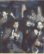 Jazz Band Pastels - The Band by John Brisson