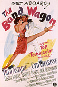 Legs Spread Prints - The Band Wagon, Cyd Charisse, Fred Print by Everett