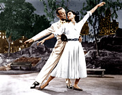 Films By Vincente Minnelli Posters - The Band Wagon, From Left Fred Astaire Poster by Everett