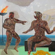 Prometheus Paintings - The Banishment of Prometheus by Richard Smith