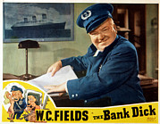 1940 Movies Metal Prints - The Bank Dick, W.c. Fields, 1940 Metal Print by Everett