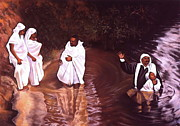 Gift Pastels Originals - The Baptism by Curtis James
