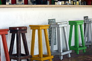 Stools Prints - The Bar Print by Sophie Vigneault