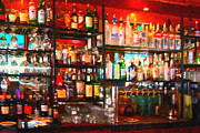 Local Digital Art Posters - The Bar Poster by Wingsdomain Art and Photography
