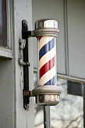 Barber Shop Prints - The Barber Shop 4 Print by Angelina Vick
