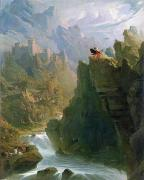 Castle Photos - The Bard by John Martin