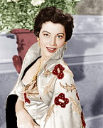 1950s Portraits Art - The Barefoot Contessa, Ava Gardner, 1954 by Everett