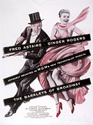 Art Of Dancers Prints - The Barkleys Of Broadway, Fred Astaire Print by Everett