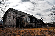 Barn Digital Art Posters - The Barn at Pawlings Farm Poster by Bill Cannon
