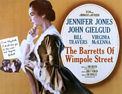 1957 Movies Photo Prints - The Barrets Of Wimpole Street, Jennifer Print by Everett