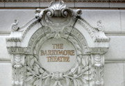 Arquitectura Posters - The Barrymore Theatre Poster by Anahi DeCanio Photography