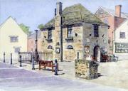 Historic Home Painting Prints - The Bartholomew Rooms at Eynsham Print by Mike Lester