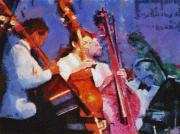 The Bass Section Print by Robert Bissett