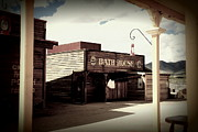 Bath House Posters - The Bath House in Old Tuscon Arizona Poster by Susanne Van Hulst