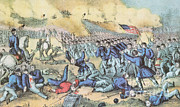 Confederacy Framed Prints - The Battle Of Fredericksburg, 1862 Framed Print by Photo Researchers