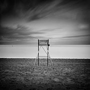 Beach Chair Photo Framed Prints - The Beach chair Framed Print by Geoffrey Gilson
