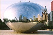 Installation Art Prints - The Bean Print by Claude Taylor