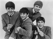 Seated Prints - The Beatles, 1963 Print by Granger