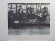 John Lennon Photo Originals - The Beatles Fun Fair by Astrid Kirchherr